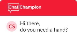Chat Champion helps you sell.
